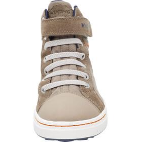 Viking Sagene Mid GTX Shoes Kids Khaki/Navy